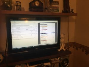 Meeting Schedule Assistant on a 32 inch TV!