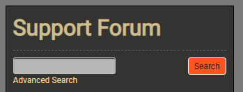 Simple Forum Search