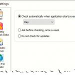 Automatically check for updates